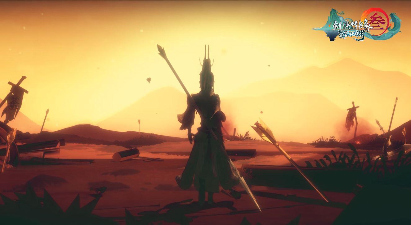 《剑网3:指尖江湖》杨宁剧情大片首映 大唐异闻录讲述天枪杨宁的傲战一生