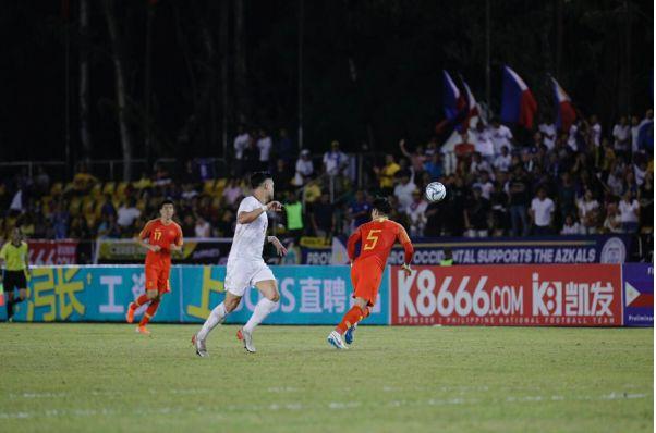 凯发游戏:防线表现出色,菲律宾国足主场战平中国队