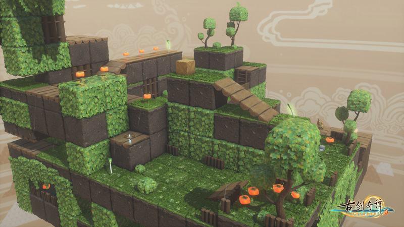 《古剑奇谭三》多语言版本&柿饼冒险玩法包将于11月15日免费更新