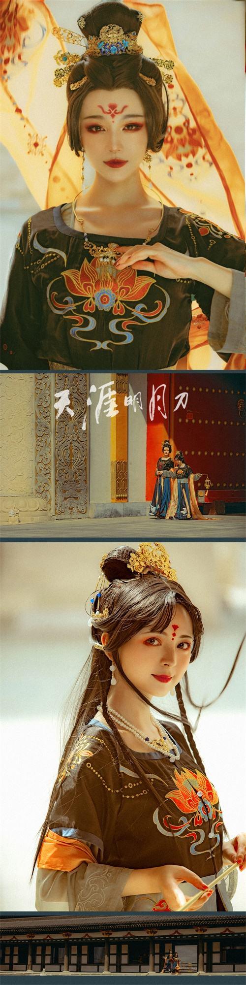 盛唐氣度、華裳風骨,《天涯明月刀》外觀設計登陸華服時尚秀!