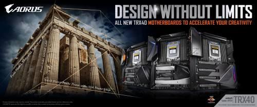 技嘉推出TRX40 AORUS系列主板