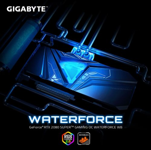 技嘉推出GeForce RTX 2080 SUPER GAMING OC WATERFORCE WB 8G開放式水冷顯卡