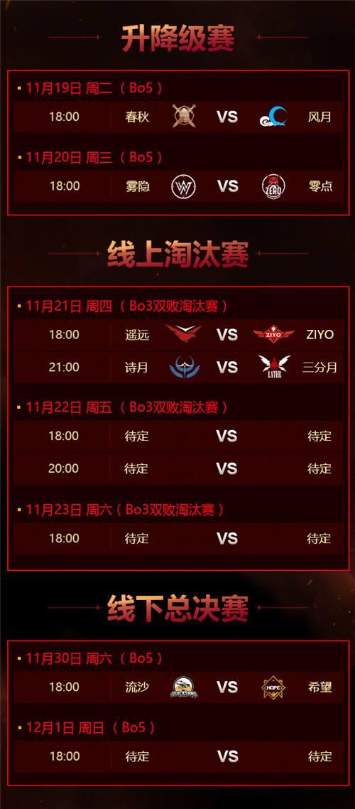《夢三國2》MPL秋季常規賽收官 季后賽賽程公布