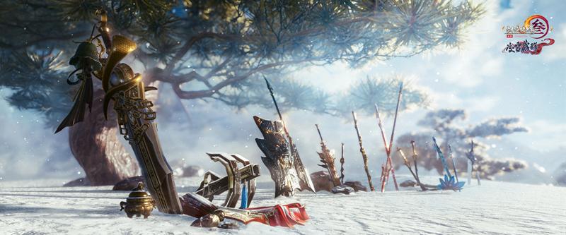 神兵重铸 《剑网3》老门派特殊武器升级特效首曝