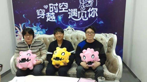 《洛奇》韓國開發隊訪問
