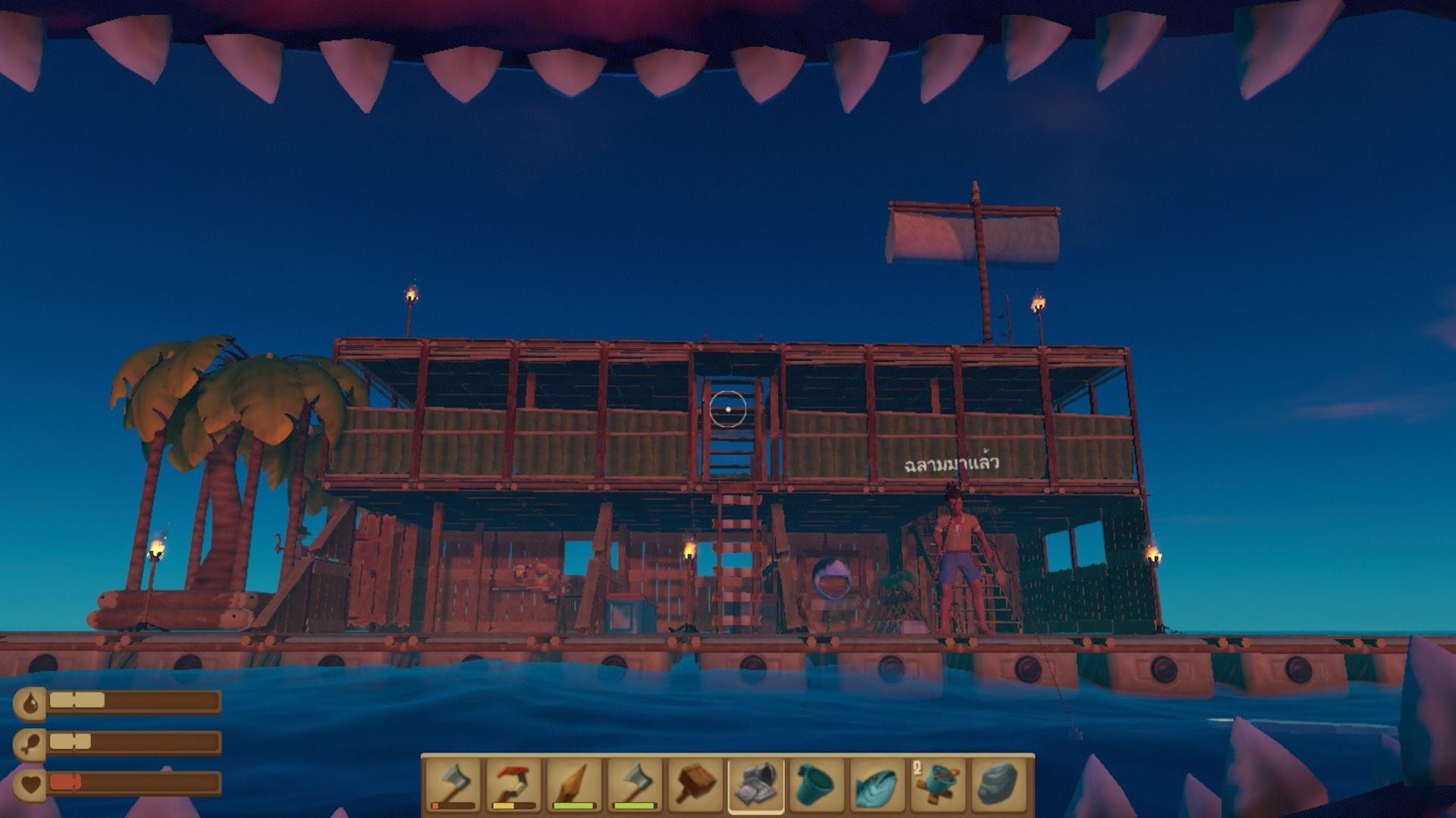 船長漂流記raft多少g 船長漂流記raft存儲空間介紹