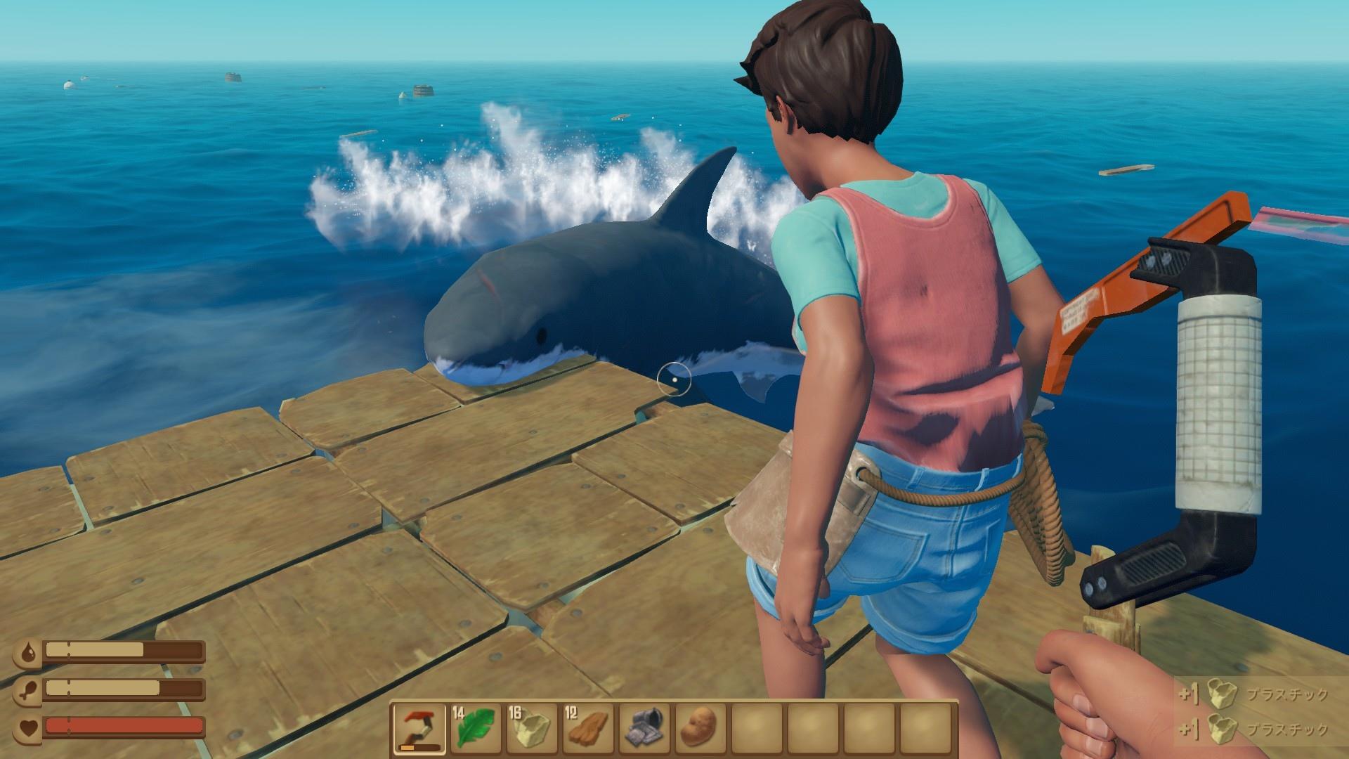 在海上撿垃圾的游戲叫什么 raft船長漂流記steam快速購買