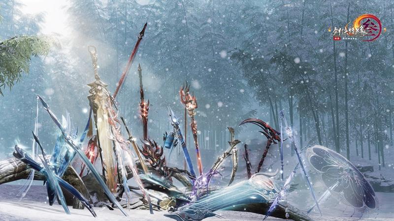 寶劍鋒從磨礪出 《劍網3》百級可成長橙武展示視頻上映