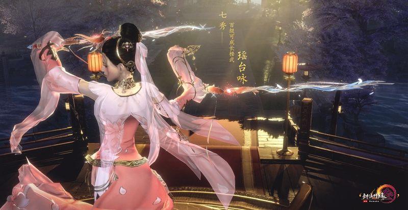宝剑锋从磨砺出 《剑网3》百级可成长橙武展示视频上映