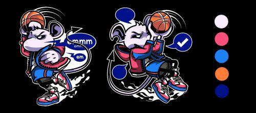 你的球场 非你莫鼠——NBA2KOL2鼠年美术元素解读