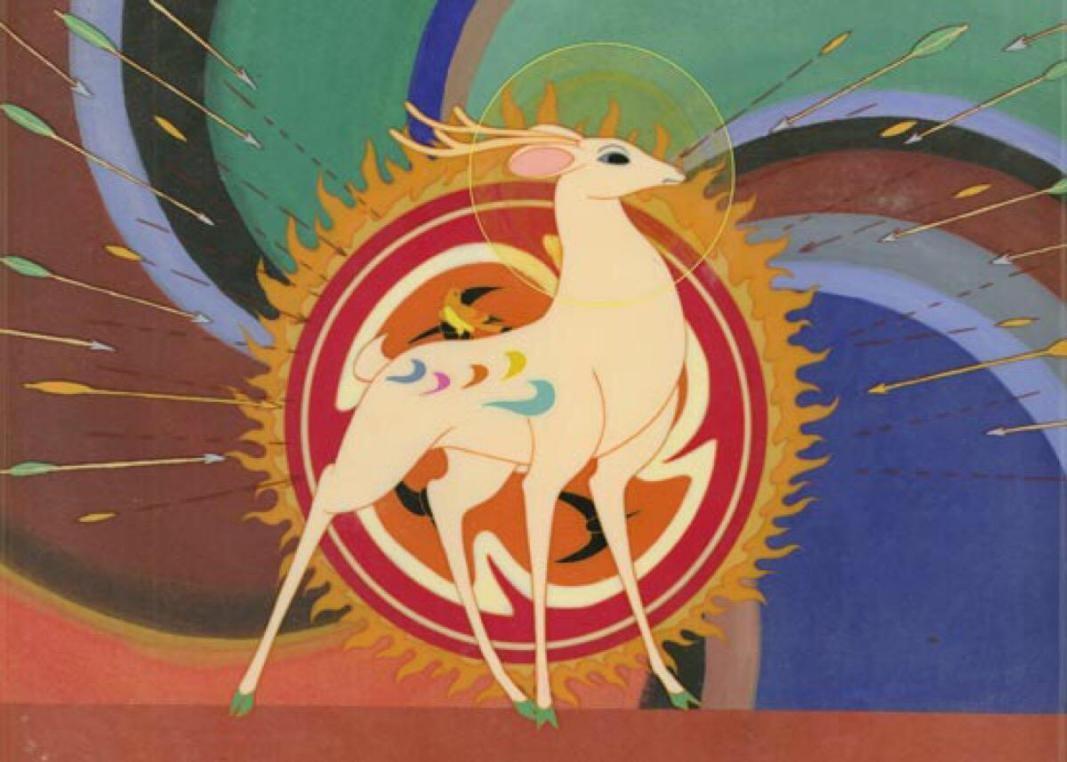 看《九色鹿》長大的孩子們,用巖彩畫繪制了LOL國風動畫