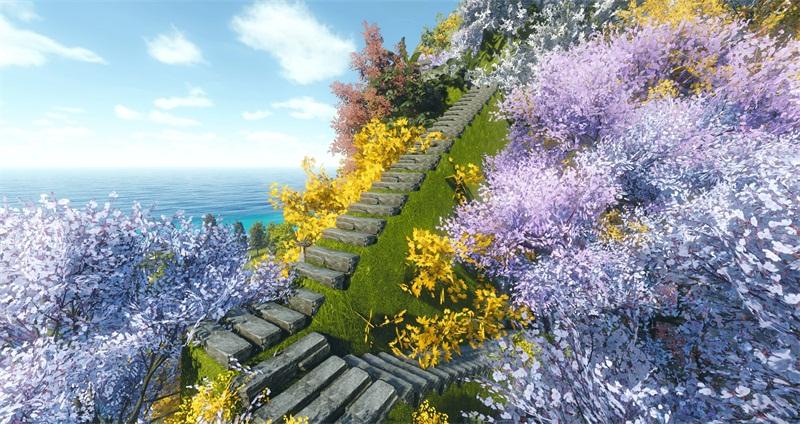 玩家挑戰服務器極限,家園造6000米高山,回家都得2個小時
