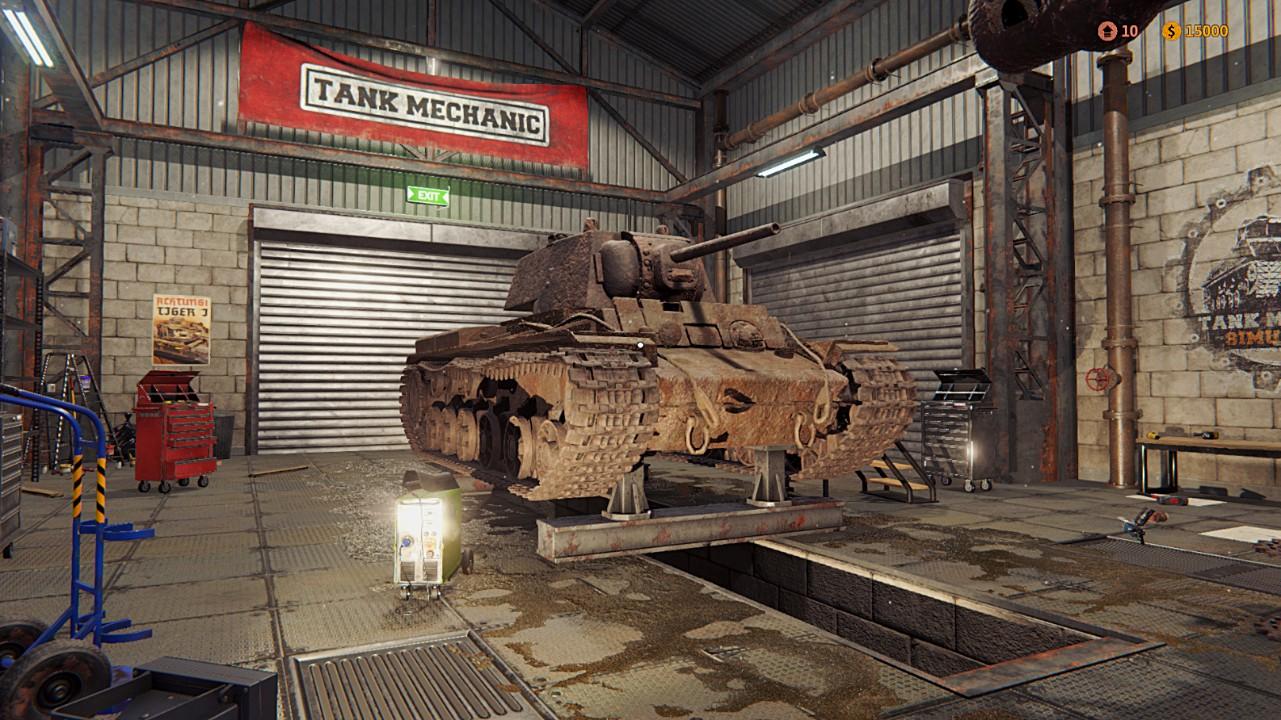 坦克修理模擬器在steam怎么找 坦克修理模擬器steam叫什么