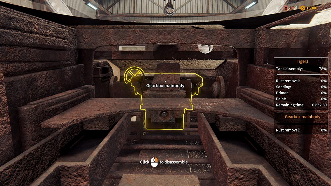 坦克修理模擬器配置介紹 坦克修理模擬器最低配置