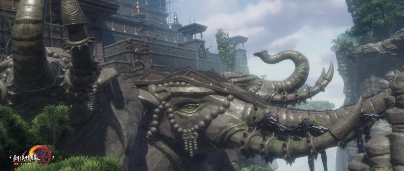 《劍網3》迎春版第三彈來襲 巴蜀風云地圖重制大片首映