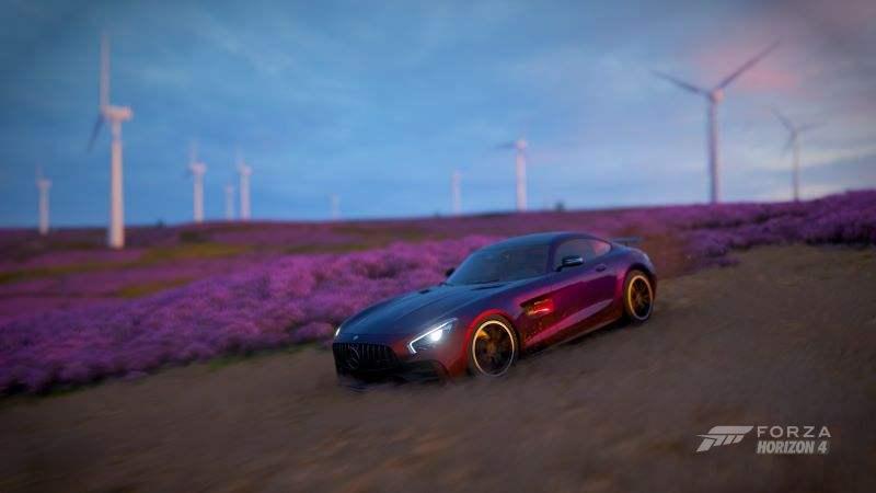 《极限竞速:地平线4》秋季赛今晚上线,兰博基尼Diablo GTR传奇再现
