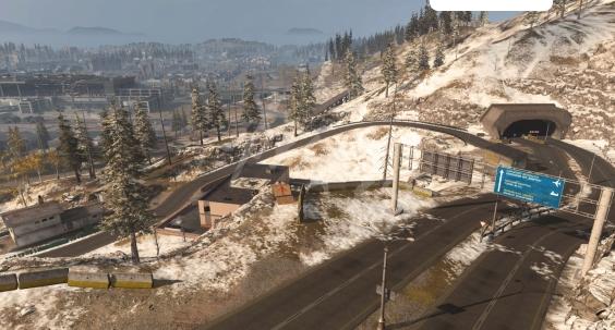 使命召唤16战区M100分割公路(强罗隧道)在哪 资源如何