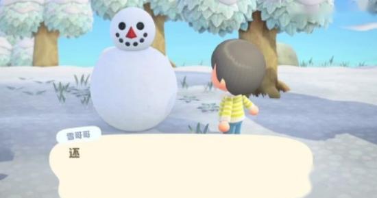 动物之森雪人怎么解锁 动物之森隐藏角色雪人解锁方法