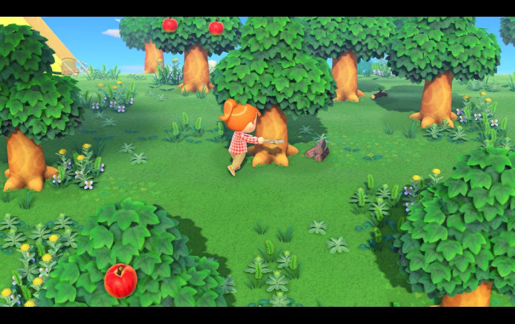 集合啦动物森友会怎么获得圆木桩 动物之森圆木桩获取方法