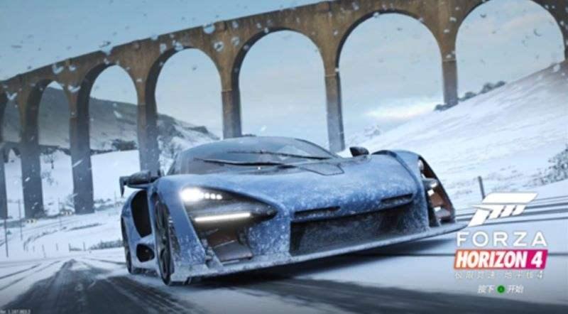 《极限竞速:地平线4》冬季赛上线,众多顶尖名车等你收集