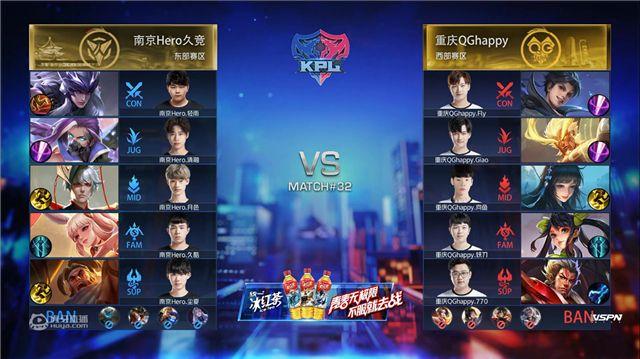 虎牙KPL:25分钟的绝对王者,重庆QGhappy鏖战五局惊险拿下两连胜