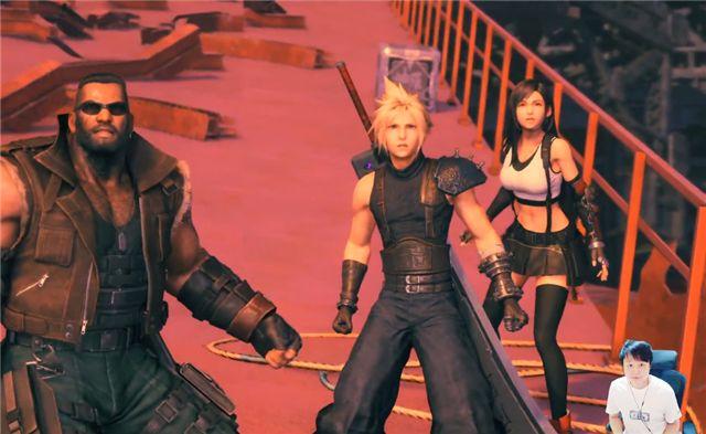 《最终幻想7:重制版》通关感受!小宇:享受过程比通关更重要