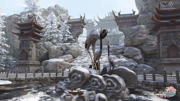 《古剑奇谭OL》剑鸣谷战火连天,阵营对抗风云再起