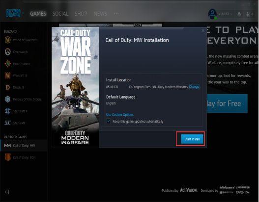 使命召唤:战区周免试玩如何注册账号?Golink加速器为玩家助力