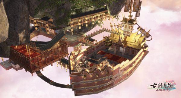 《古剑奇谭OL》仙府家园2.0部分精彩内容提前曝光