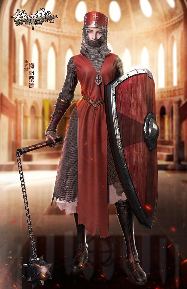 《铁甲雄兵》新版本今日开启  女王梅丽桑德与你共庆周年