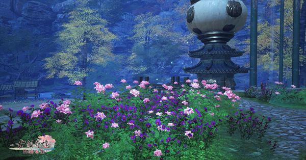 初夏之夜一起来《古剑奇谭OL》里欣赏流萤美景吧!