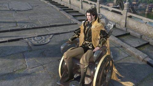 武器居然是轮椅??《逆水寒》新门派玄机今晚正式亮相!
