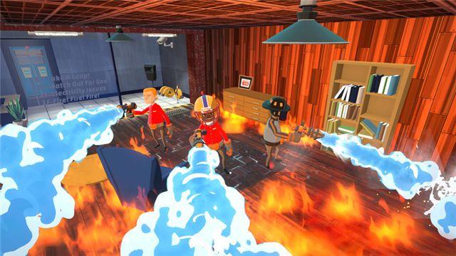 多人合作共享消防模拟游戏《灭火先锋》于今日登陆Steam 抢鲜体验版块和Stadia平台