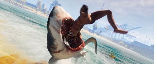 食人鲨怎么按跳得高一点 食人鲨跳高技巧