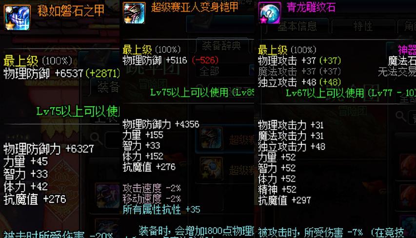 闲谈DNF游戏中的减伤套 超强防御无人能敌