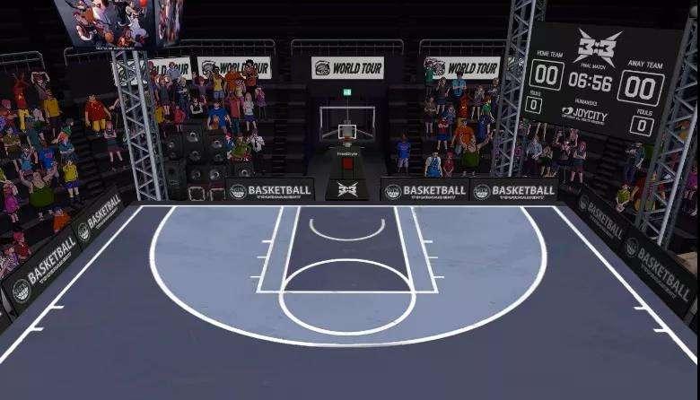 3X3模式抢先体验《街头篮球》主播揭秘你不知道的新玩法