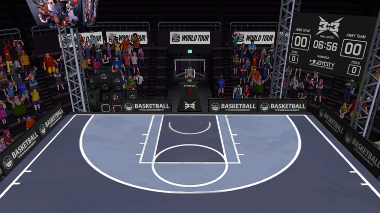超快感 《街头篮球》3X3极速竞技模式上线