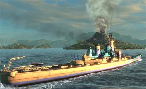 海量稀有涂装解锁《海战世界》盛夏版本更新