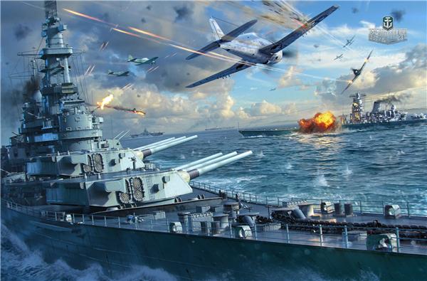 战舰出击炮火不熄《战舰世界》技术封测今日正式开启