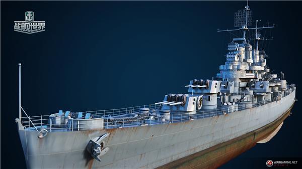 战略新支柱诞生《战舰世界》M系轻巡洋舰高能进化