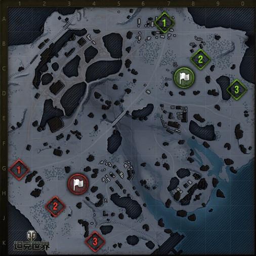 绝地战场策略深挖《坦克世界》战役模式地图介绍