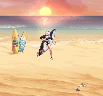 DNF2020夏日礼包外观一览 冲浪少年少女