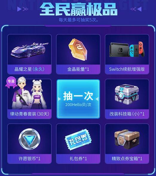 Hello语音开启QQ飞车特权专区助力玩家竞速梦想,精美礼品拿不停