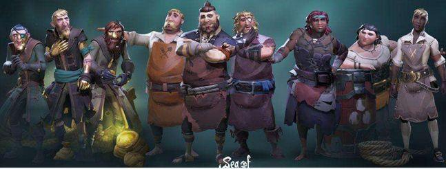 盜賊之海人物怎么換 人物外觀更換方法介紹