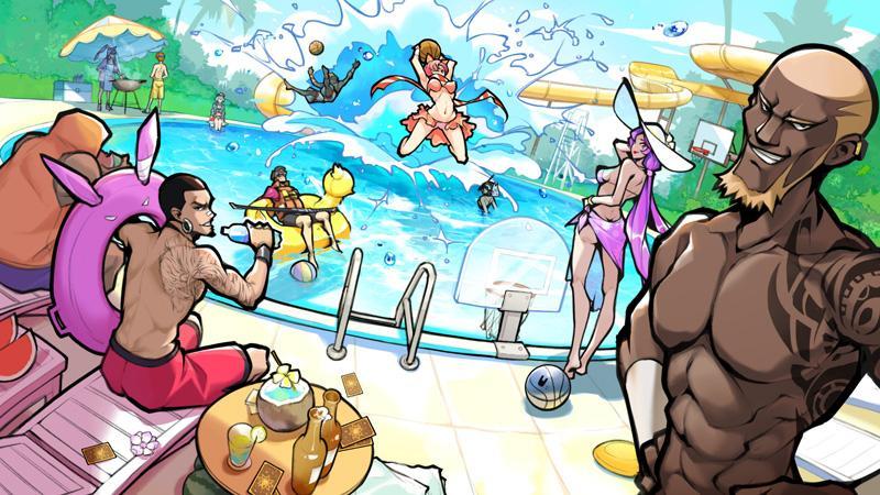 爽翻夏季《自由篮球》泳池派对畅享福利