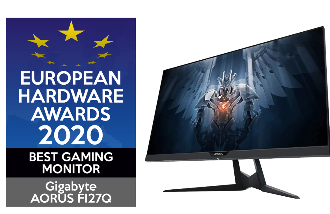 AORUS FI27Q 荣获欧洲最佳电竞屏幕大赏