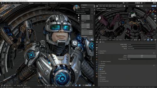 渲染速度快十倍!RTX加速Blender创作