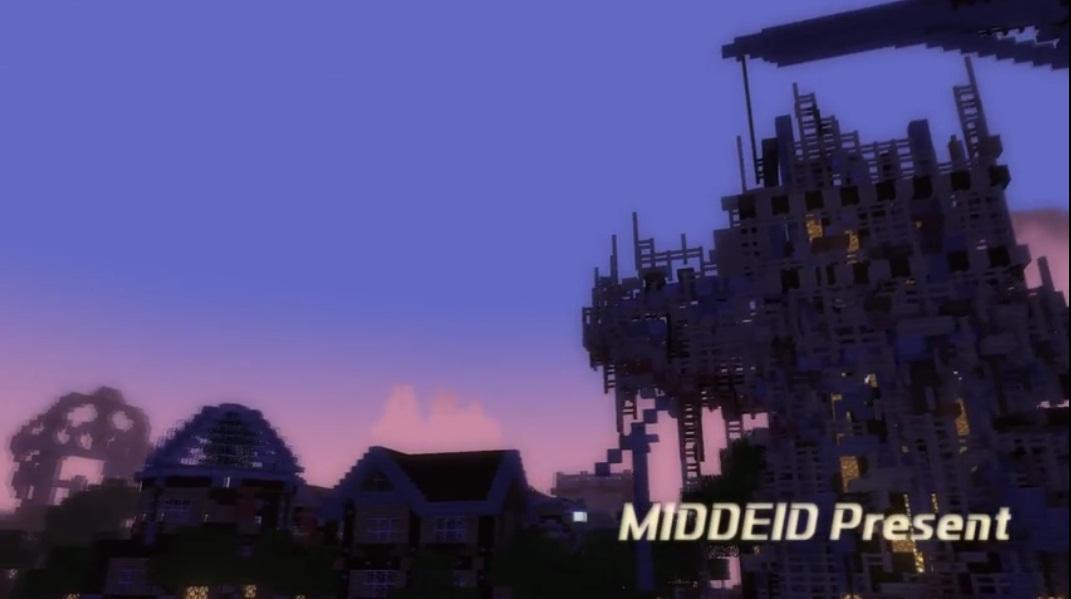 这个二次元开发团队在《我的世界》中实现了原画级CG立绘