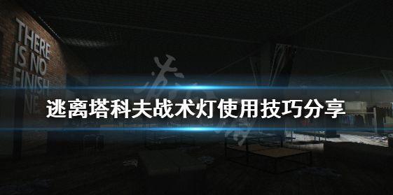 逃离塔科夫战术手电怎么玩 战术灯使用方法推荐