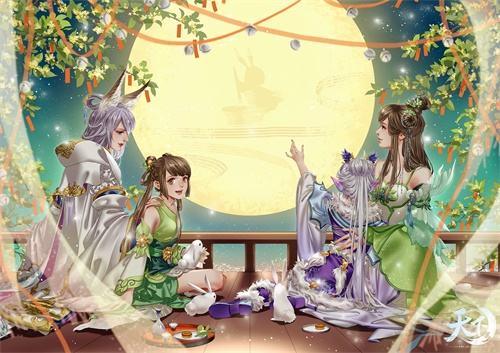 """蝶意莺情满花朝,来《天下3》""""月下祈愿""""许下美好期待!"""
